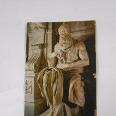 Postales: POSTAL DE ROMA. BASILICA DE SAN PIETRO IN VINCOLI. MICHELANGELO. TDKP7. Lote 62195160