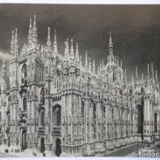 Postales: MILAN MILANO IL DUOMO CIRCULATO 1949. Lote 62204800