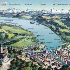 Postales: SUIZA/ SWITZERLAND - ZÜRICH - Nº12 - AÑOS 10- 1914- PHOTO & KARTEN CENTRALE - POSTAL ORIGINAL -. Lote 62212412
