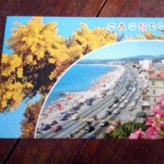 Postales: POSTAL DE CANNES ESCRITA. Lote 62244024