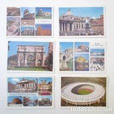 Postales: SOBRE SALUTI DA ROMA, CONTENIENDO 20 POSTALES DE LOS AÑOS 80 DE LA CIUDAD. Lote 62247944