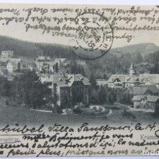 Postales: RIESENGEBIRGE KRUMMHÜBEL 1907. Lote 62453840