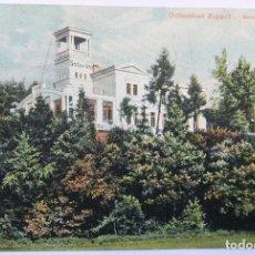Postales: OSTSEEBAD ZOPPOT RESTAURANT STOLZENFELS 1909. Lote 62463944