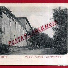 Cartes Postales: POSTAL ORTONA, ITALIA, VIALE DEL CARMINE, OSPEDALE MARIA, P84025. Lote 62529468