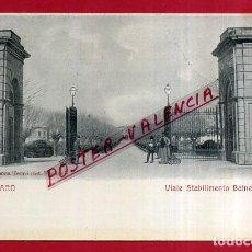 Cartes Postales: POSTAL PESARO, ITALIA, VIALE STABILIMENTO BALNEARIO, P84056. Lote 62535932
