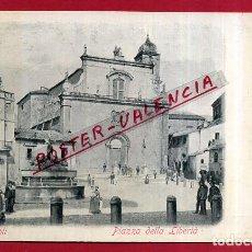 Cartes Postales: POSTAL POPOLI, ITALIA, PIAZZA DELLA LIBERTA, P84075. Lote 62537900