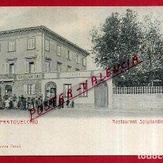 Cartes Postales: POSTAL PRATOVECCHIO, ITALIA, RESTAURANT SPIGLIANTINI, P84080. Lote 62538420