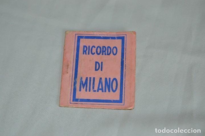 LIBRO CON 5 TARJETAS POSTALES - RECUERDO DE MILAN - MUY ANTIGUAS - MIRA LAS FOTOS (Postales - Postales Extranjero - Europa)