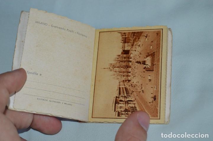 Postales: LIBRO CON 5 TARJETAS POSTALES - RECUERDO DE MILAN - MUY ANTIGUAS - MIRA LAS FOTOS - Foto 4 - 62845704