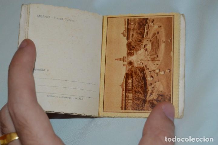 Postales: LIBRO CON 5 TARJETAS POSTALES - RECUERDO DE MILAN - MUY ANTIGUAS - MIRA LAS FOTOS - Foto 5 - 62845704