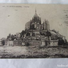Postales: POSTAL FRANCIA. LE MONT ST. MICHEL. AÑO 1925. Lote 63016944