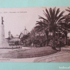 Postales: 2151 FRANCIA FRANCE ALPES MARITIMES NIZA NICE LE MONUMENT DU CENTENAIRE. Lote 63493092