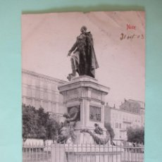 Postales: 2154 FRANCIA FRANCE ALPES MARITIMES NIZA NICE STATUE MASSENA 1903. Lote 63493728
