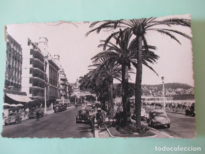 2164 FRANCIA FRANCE ALPES MARITIMES NIZA NICE LA PROMENADE DES ANGLAIS 1955 (Postales - Postales Extranjero - Europa)
