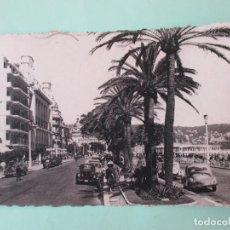 Postales: 2164 FRANCIA FRANCE ALPES MARITIMES NIZA NICE LA PROMENADE DES ANGLAIS 1955. Lote 63498940