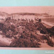 Postales: 2171 FRANCIA FRANCE ALPES MARITIMES NIZA NICE NIZZA VUE GENERALE DES JARDINS ALBERT I ER 1948. Lote 63501036