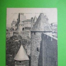 Postales: 2403 FRANCIA FRANCE AUDE CITÉ DE CARCASSONNE CARCASONATOUR DE JUSTICE 1912. Lote 64414687