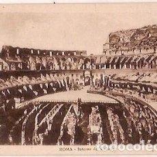 Postales: ANTIGUA POSTAL ROMA INTERNO DEL COLOSSEO. Lote 64418943