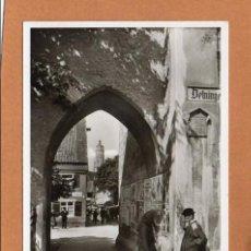 Postales: ALEMANIA - DEUTSCHLAND - NÖRDLINGEN - DEININGER TOR - AÑOS 30/ 40 - SIN CIRCULAR - ANIMADA -. Lote 64470055