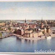 Postales: POSTAL DE SUECIA TAMAÑO GRANDE 22X15 STOCKHOLM, SWEDEN. Lote 65913806