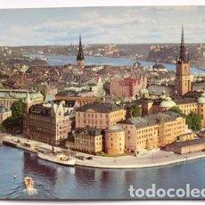 Postales: POSTAL DE SUECIA TAMAÑO GRANDE 22X15 STOCKHOLM, SWEDEN. Lote 65913838