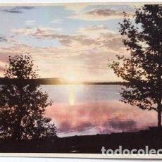 Postales: POSTAL DE SUECIA TAMAÑO GRANDE 22X15 MIDNATTSSOL, LAPPLAND, SWEDEN. Lote 65913994