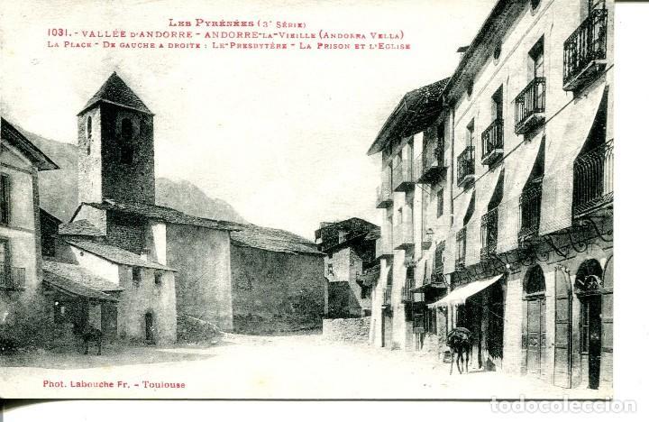 ANDORRA LA VELLA- (Postales - Postales Extranjero - Europa)