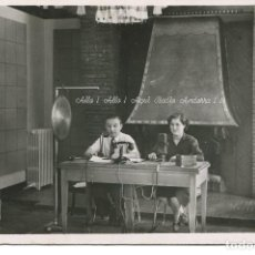 Postales: ANDORRA REPUBLICA -ANDORRA LA VELLA- RADIO ANDORRA-MUY RARA. Lote 67214193