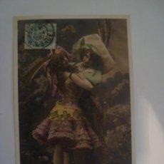 Postales: LOTE 5 POSTALES LA MATCHICHE 1906. Lote 67337441