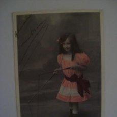 Postales: LOTE NIÑA CON DIAVOLO 1908 3 POSTALES. Lote 67340729