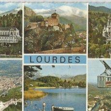 Postales: LOURDES (FRANCIA) DIVERSOS ASPECTOS - EDITIONS YAN-ROGE 43 - CIRCULADA. Lote 67593549