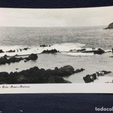 Postales: POSTAL MADEIRA PISCINA DE PORTO MONIZ FOTO. Lote 68025337