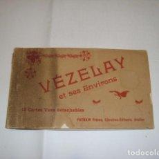 Postales: COLECCION ALBUN DE POSTALES DE VECELAY 1900. Lote 68068097