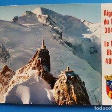 Postales: CHAMONIX MONT BLANC - AIGUILLE DU MIDI. Lote 68544069