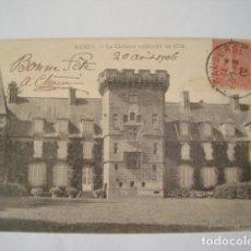 Postales: RANES LE CHATEAU CONSTRUIT EN 1719 CIRCULADA 1906. Lote 68657369