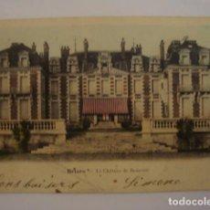 Postales: BRIARE LE CHATEAU DE BEAUVOIR CIRCULADA EN 1904. Lote 68675821