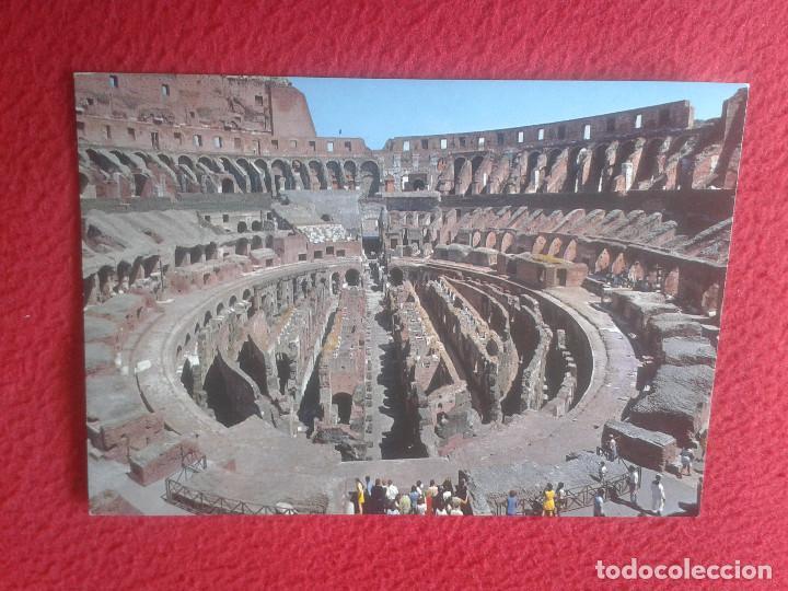 POSTAL POSTCARD CARTOLINA POSTALE POST CARD PLURIGRAF ROMA ROME ITALIA ITALY EL COLISEO INTERIOR VER (Postales - Postales Extranjero - Europa)