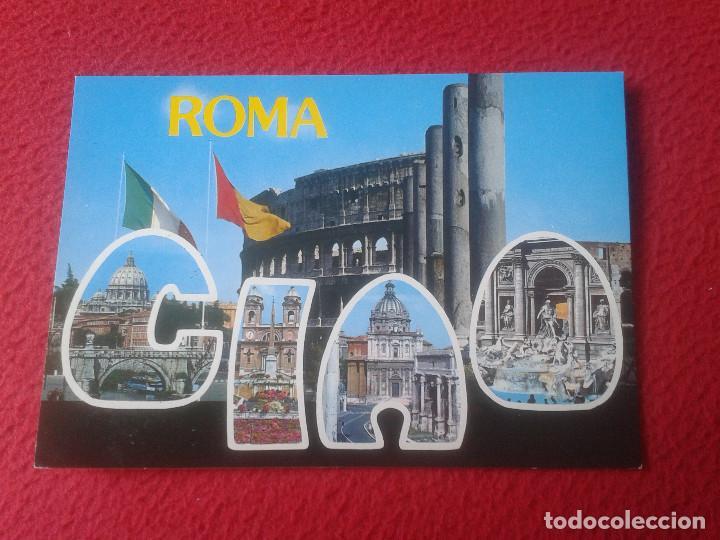 POSTAL POSTCARD CARTOLINA POSTALE POST CARD PLURIGRAF ROMA ROME ITALIA ITALY CIAO 649 VER FOTO/S Y D (Postales - Postales Extranjero - Europa)