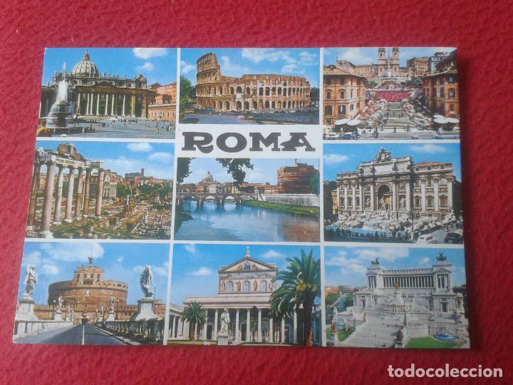 POSTAL POSTCARD CARTOLINA POSTALE POST CARD PLURIGRAF ROMA ROME ITALIA ITALY 428 DIVERSAS VISTAS VER (Postales - Postales Extranjero - Europa)