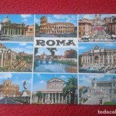 Postales: POSTAL POSTCARD CARTOLINA POSTALE POST CARD PLURIGRAF ROMA ROME ITALIA ITALY 428 DIVERSAS VISTAS VER. Lote 70019969