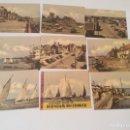 Postales: 9 POSTALES PEQUEÑAS DE BURNHAM-ON-CROUCH - AÑOS 50-60. Lote 70291373