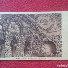 Postales: POSTAL POSTCARD CARTE POSTALE ITALIA ROMA ROME CIMITERO CEMENTERIO DEL CAPPUCCINI CAPPELLA CRANEOS . Lote 71078881