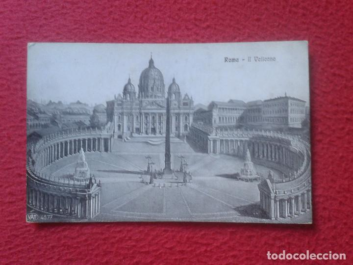 POSTAL POSTCARD CARTE POSTALE ITALIA ITALY ROMA ROME IL VATICANO VER FOTO/S Y DESCRIPCION (Postales - Postales Extranjero - Europa)