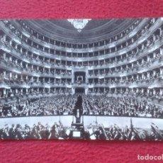 Postales: POSTAL POSTCARD CARTE POSTALE ITALIA ITALY 267 MILANO MILAN TEATRO DE LA ALLA ESCALA LA SCALA DELLA . Lote 71105697