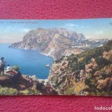 Postales: POSTAL POSTCARD CARTE POSTALE ITALIA ITALY CAPRI MONTE SOLARE DA TRAGARA. EDITORI TRAMPETTI VER FOTO. Lote 71106021