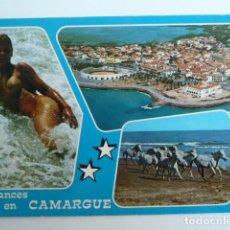 Postales: CAMARGUE (FRANCIA) VACACIONES EN CAMARGUE 10066 POSTAL SIN CIRCULAR. Lote 71146113