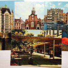 Postales: LOTE 4 POSTALES. ROTTERDAM, HOLANDA. HOLLAND.. Lote 71185813