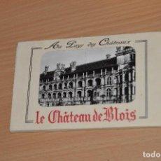 Postales: ESTUCHE CON 10 TARJETAS POSTALES - LE CHATEAU DE BLOIS - SIN CIRCULAR. Lote 71804531