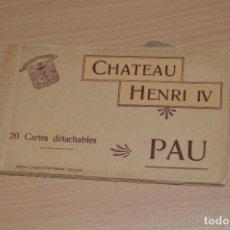 Postales: LIBRITO CON 20 TARJETAS POSTALES - CHATEAU HENRI IV - SIN CIRCULAR - MIRA LAS FOTOS. Lote 71805231