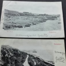 Postales: FOLKESTONE THE BEACH. Lote 72087585